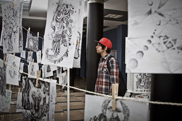 Red Bull Sztuka Bazgrolow - Galeria Warszawa (11)
